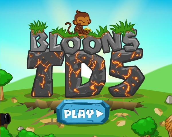 English Banana Bloons Tower Defense