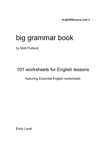 Big Grammar Book | English Banana
