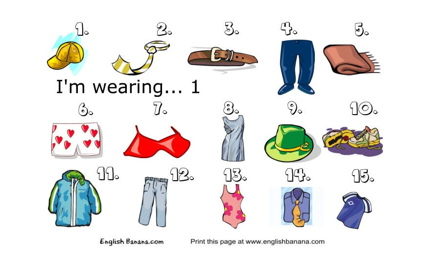 ... Worksheet together with English Clothes Worksheet. on english