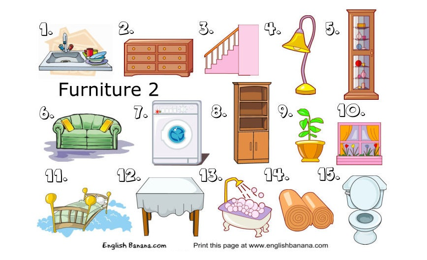 English Banana Com 199 Elementary Worksheets For English